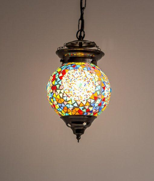 LHM15-MC-B_T-oosterse hanglamp mozaiek, orientals (3)