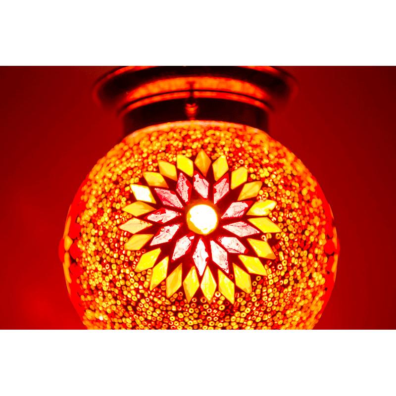 oosterse mozaà ek hanglamp diameter 15 cm gomsa webshop