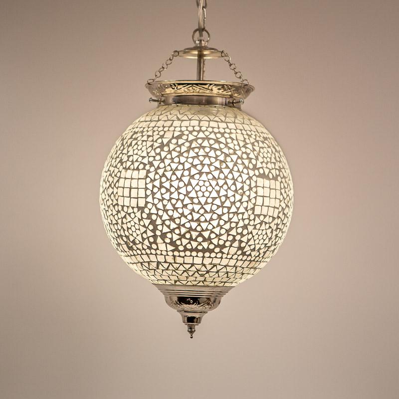 Favoriete oosterse mozaïek hanglamp - diameter 25 cm - Gomsa Webshop @UQ59