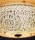 oosterse plafonniere 50 centimeter – transparant turkish design- detail