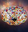 oosterse plafonniere meloen – mc – beads(3)