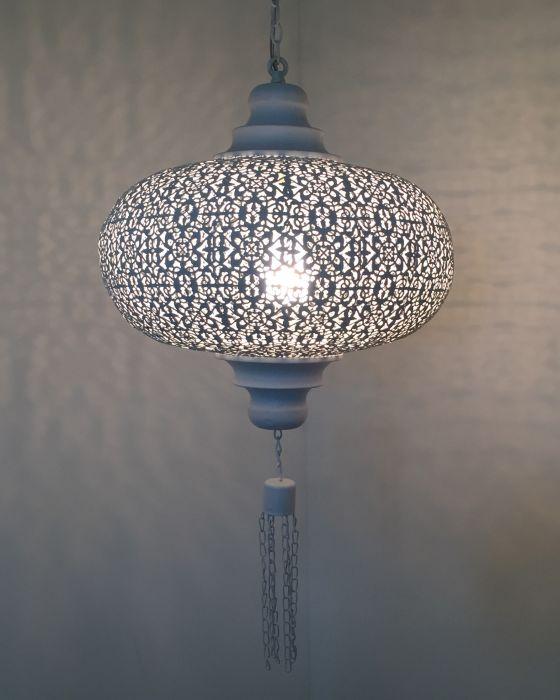 hanglamp orà entaals medium wit gomsa webshop