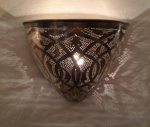 wandlamp-filigrain-punt-koper-zilver-aan