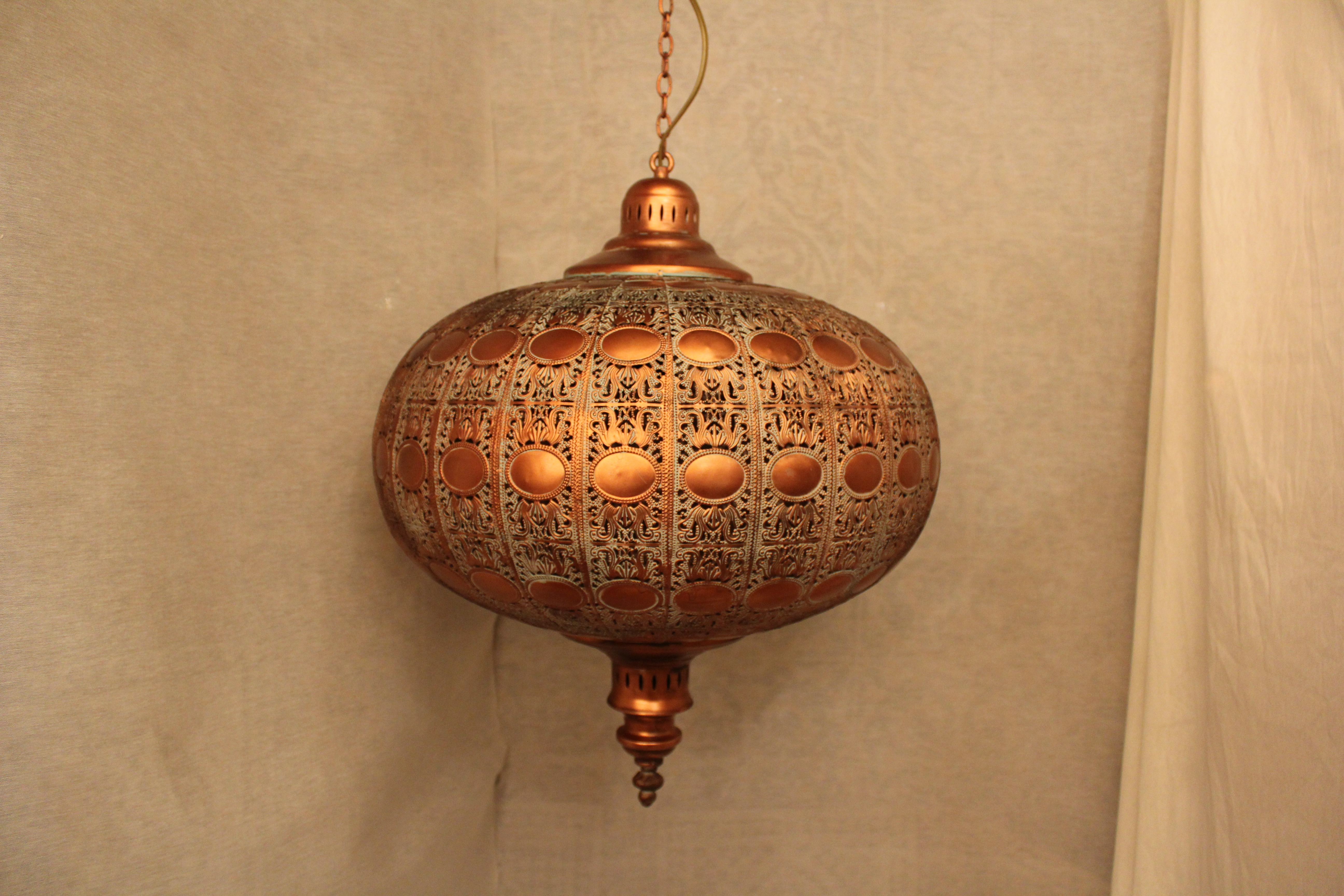 keukentegels groot : Indiase Hanglamp Koper Groot Gomsa Webshop