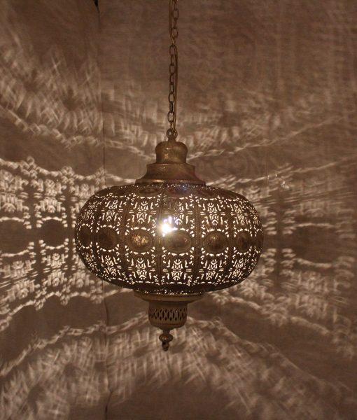 indiase hanglamp goud klein gomsa webshop