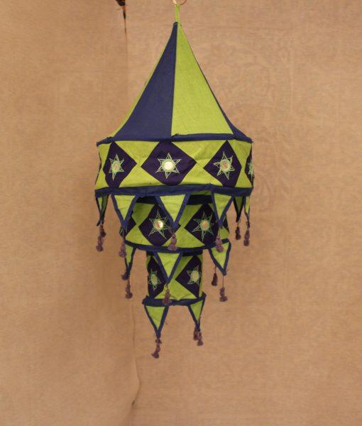 indiase hanglamp stof groot g b gomsa webshop