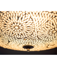 oosterse plafonniere 50 centimeter – transparant turkish design