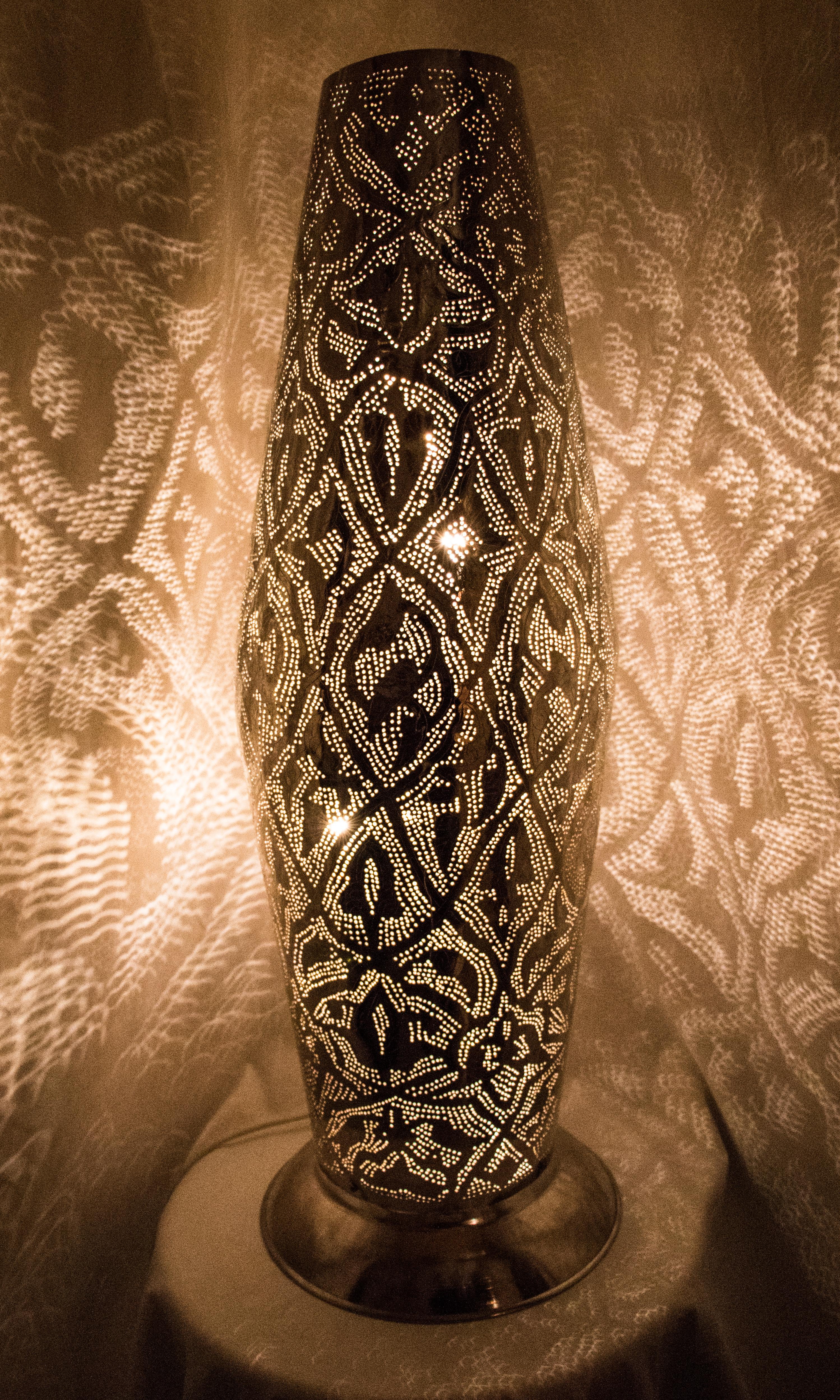 Bedwelming Staande Filigrain Lamp Verschillend - Gomsa Webshop #GJ36